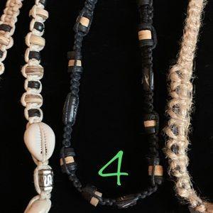 NWOT Macrame Surfer Bracelets - 5 Styles